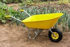 Ambassador Boxed Wheelbarrow 85L - Yellow